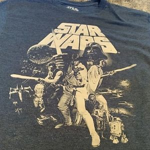 Other - Star Wars t-shirt size medium.  blue